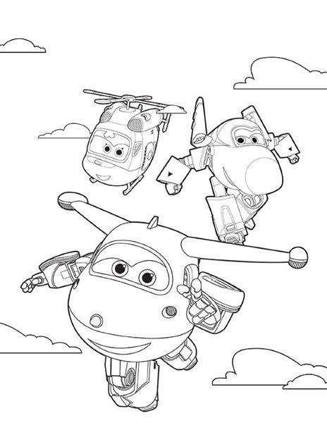 Ausmalbilder-Super-Wings | Ausmalbilder Super Wings 01 | Pinterest ...