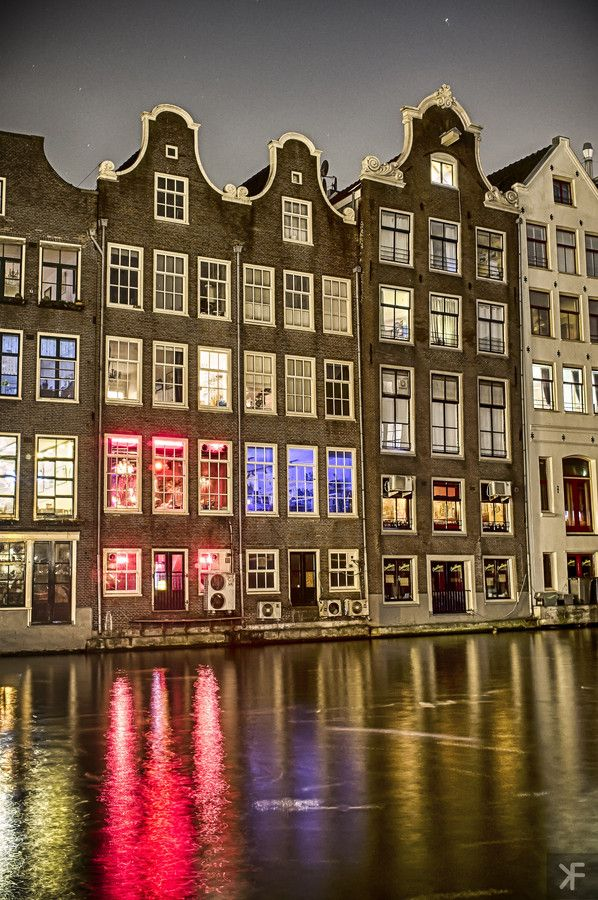 Red Light District In Amsterdam Yes Indeed We Did Walk Thru This