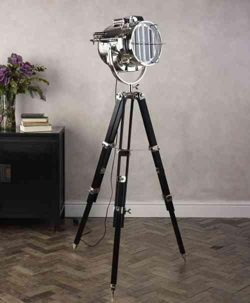 Lampadaire Trepied Projecteur De Cinema Hollywood Bodenlampe Moderne Stehlampen Und Deckenlampe