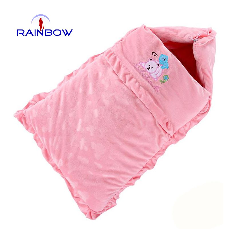 256d28281 Super 2016 baby sleeping bags newborn infants thickening cotton ...