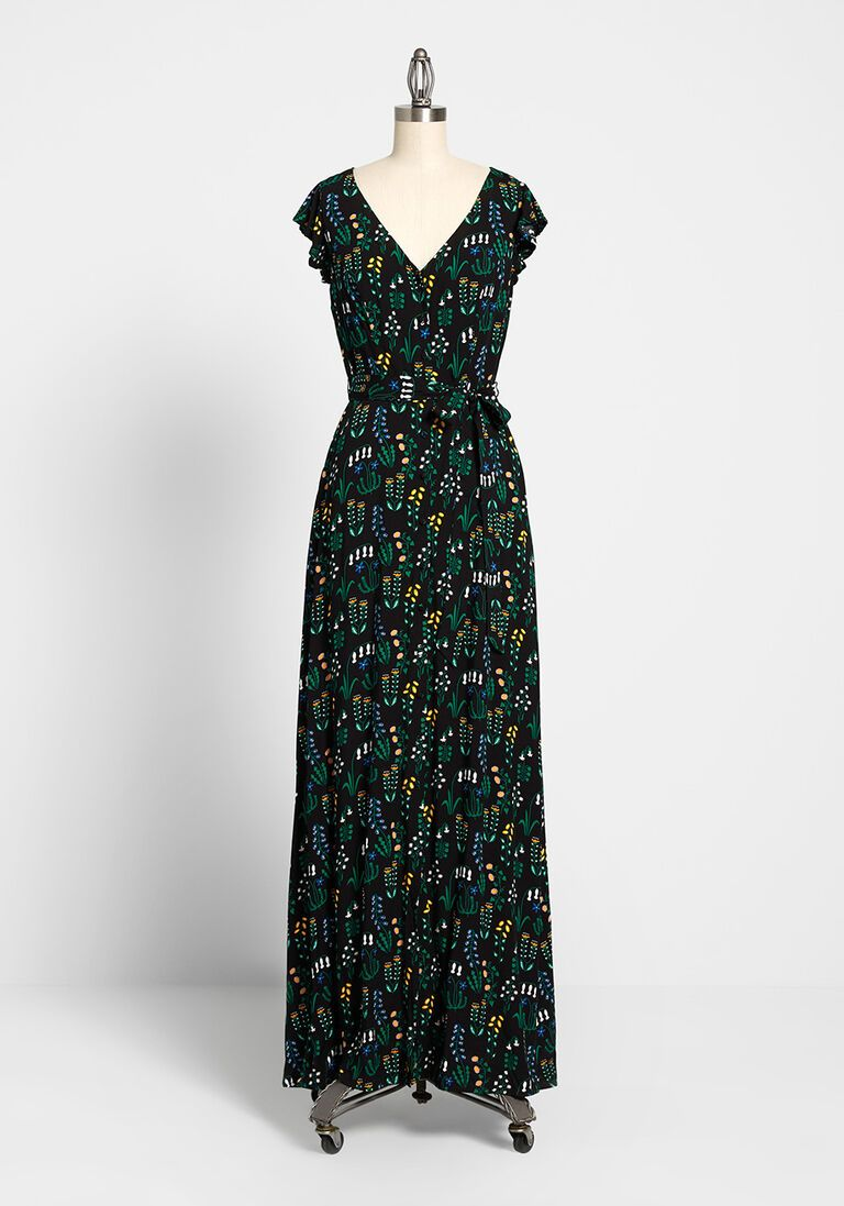 ModCloth x Collectif Sunshine Sashay Maxi Dress in 6 (UK)