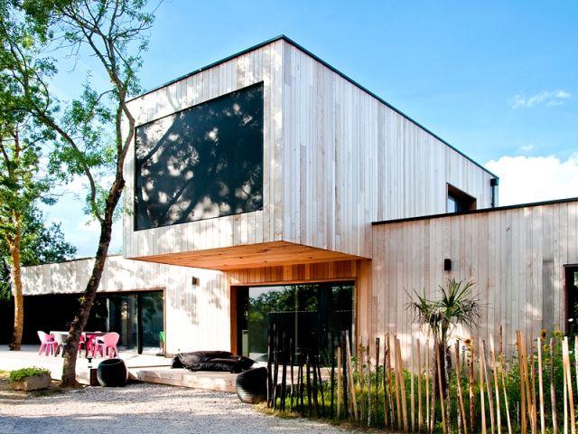 Une maison du0027architecte construite entre les arbres Architecture