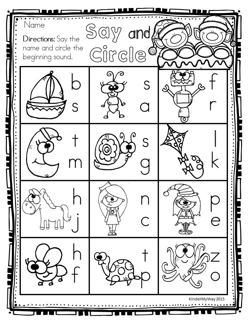 Preschool Printables Christmas Printables Ready To Use For Any Early Childhood Cla Christmas Math Worksheets Kindergarten Phonics Worksheets Math Worksheets [ 1056 x 816 Pixel ]
