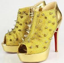 gele schoenen hoge hak - Google zoeken