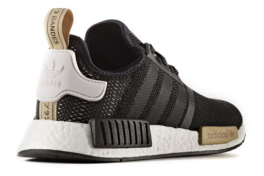 adidas NMD Arriving in New Black and Gold Colorway for