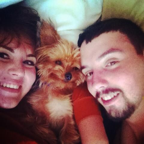 Kelev loves his mommy and daddy! Look at that smile! :)