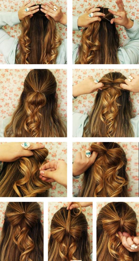 Penteados Simples Para Fazer Sozinha Penteado Simples Para