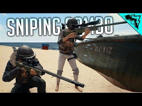 PUBG SNIPING COMBO - PlayerUnknown Battlegrounds Gameplay w/ Aculite