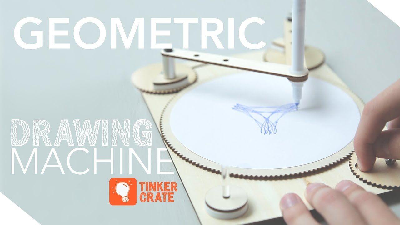 Build A Geometric Drawing Machine