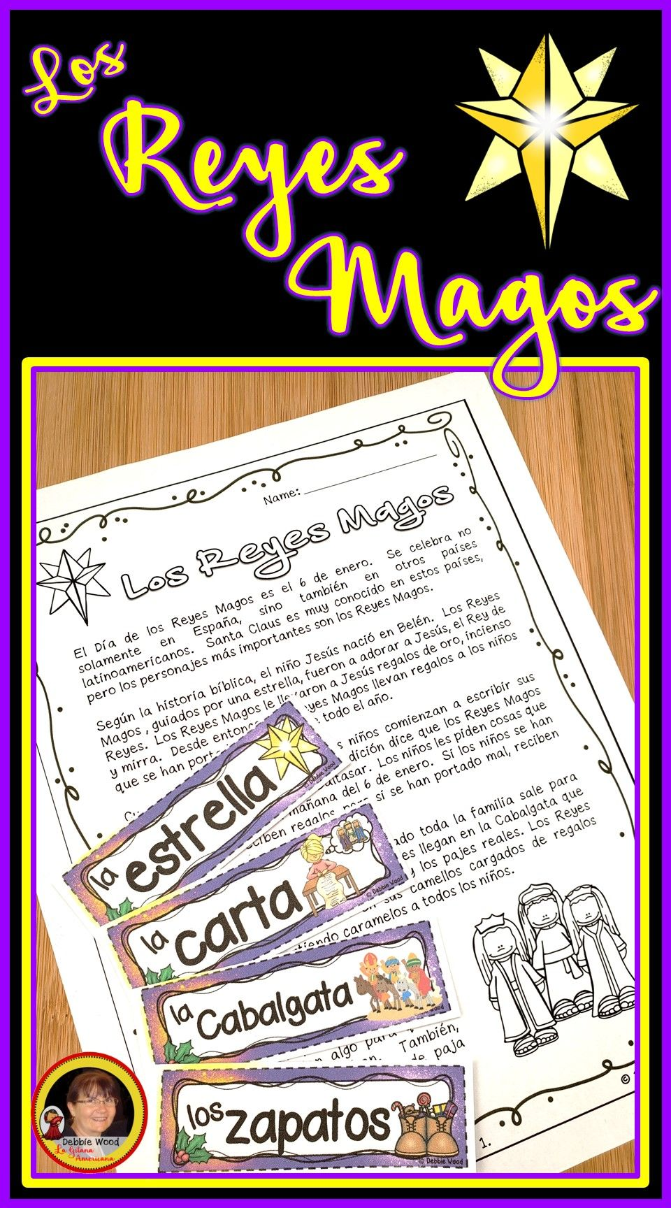 Celebrate Dia De Los Reyes Magos This Year In Your Spanish Language Class With These No Prep Printables Students Wil Dia De Reyes How To Speak Spanish Spanish [ 1728 x 960 Pixel ]