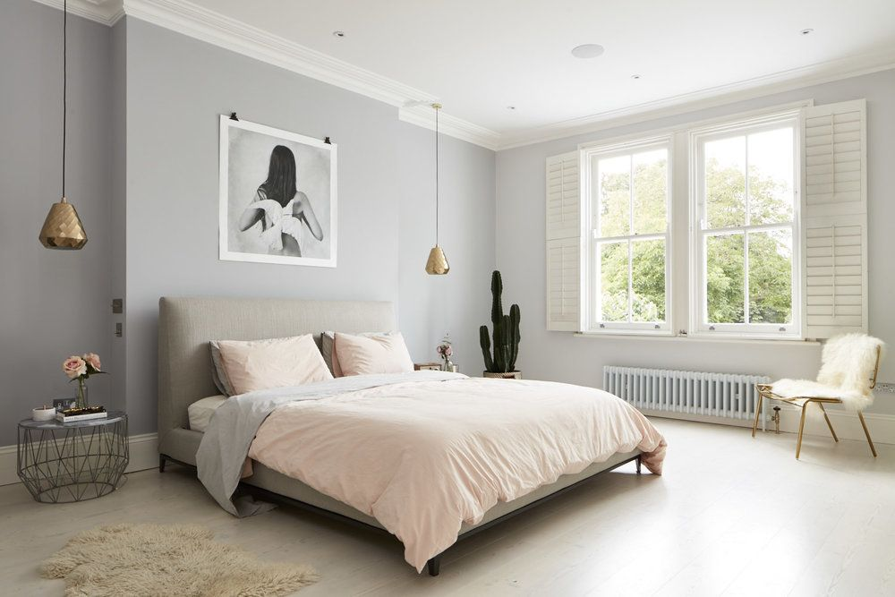 Нежная спальня — Интерьеры квартир, домов — MyHome.ru | 667x1000