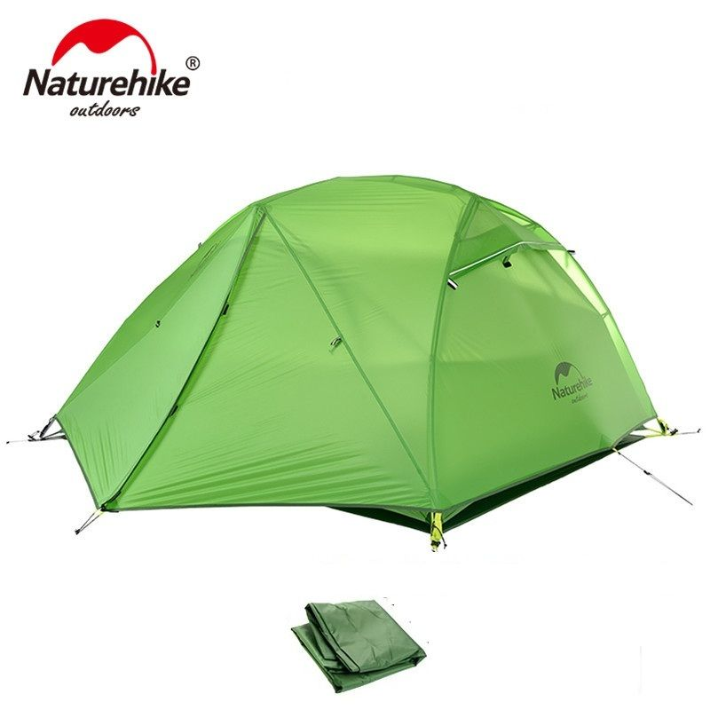NatureHike Outdoor 2 Person C&ing Tent 4 season 2 Man Ultralight Portable Best Backpacking Cycling Hiking  sc 1 st  Pinterest & NatureHike Outdoor 2 Person Camping Tent 4 season 2 Man Ultralight ...