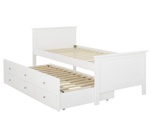 Jordan Single Captain Bed Fantastic Furniture 549 Girls New