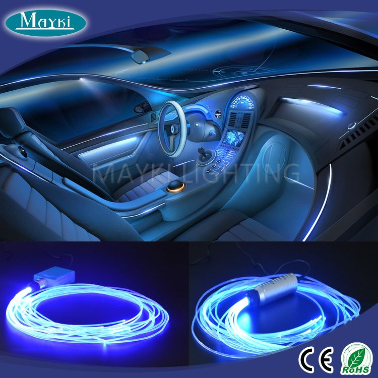 Lighting · car using fibre optic lighting kit