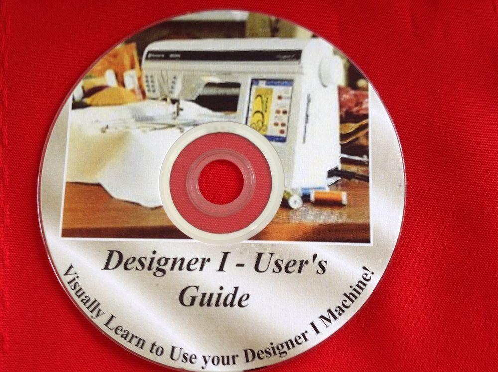 Husqvarna Viking Designer 1 Users Guide Simple Instruction Guide