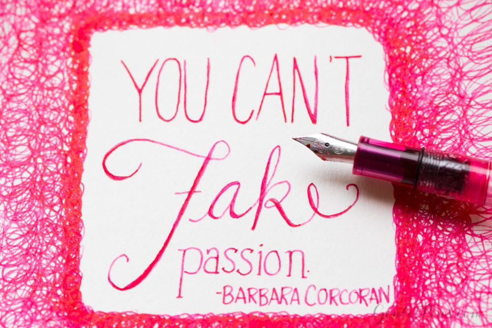 Pen and ink handlettering! Love this bright pink sketch. Saving this blog to read later.