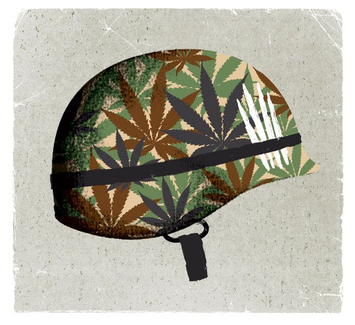 Previous / Next  Esquire – PTSD  Esquire feature on marijuana usage as treatment for soldiers with post-traumatic stress disorder.