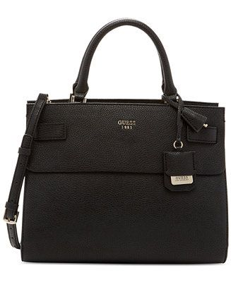 48c6ede5fc0 GUESS Cate Satchel - Impulse Contemporary Brands - Handbags   Accessories -  Macy s