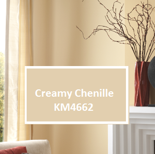 enlivened neutrals the wall color creamy chenille km4662. Black Bedroom Furniture Sets. Home Design Ideas