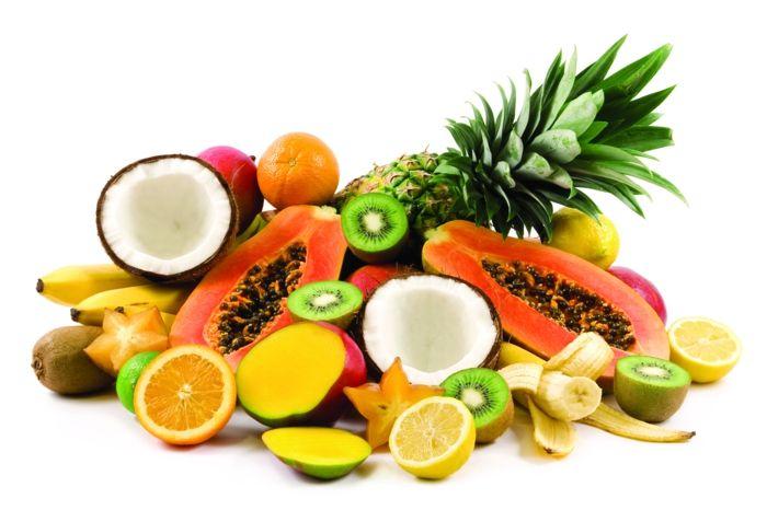 exotische früchte südländliche früchte exotisches obst