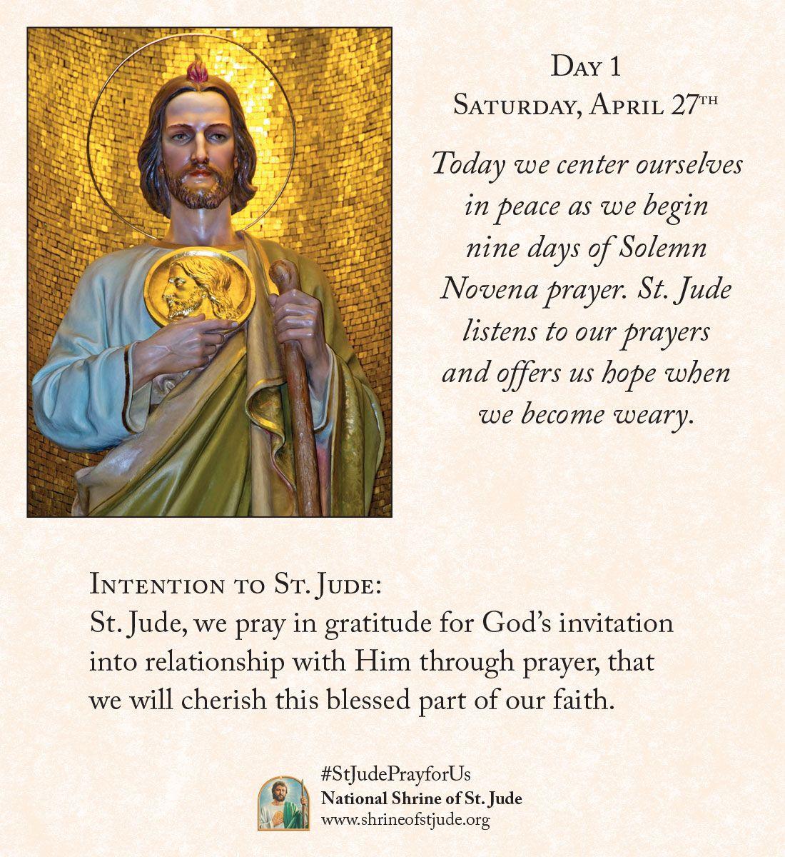 Pin on St. Jude Novena