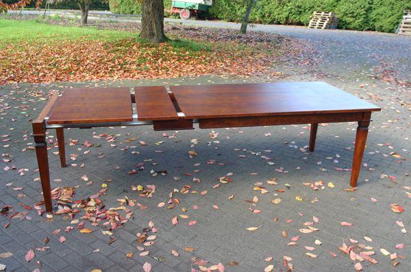 Esstisch ausziehbar aus Kirschbaum Esstisch Pinterest - der ausziehbare esstisch
