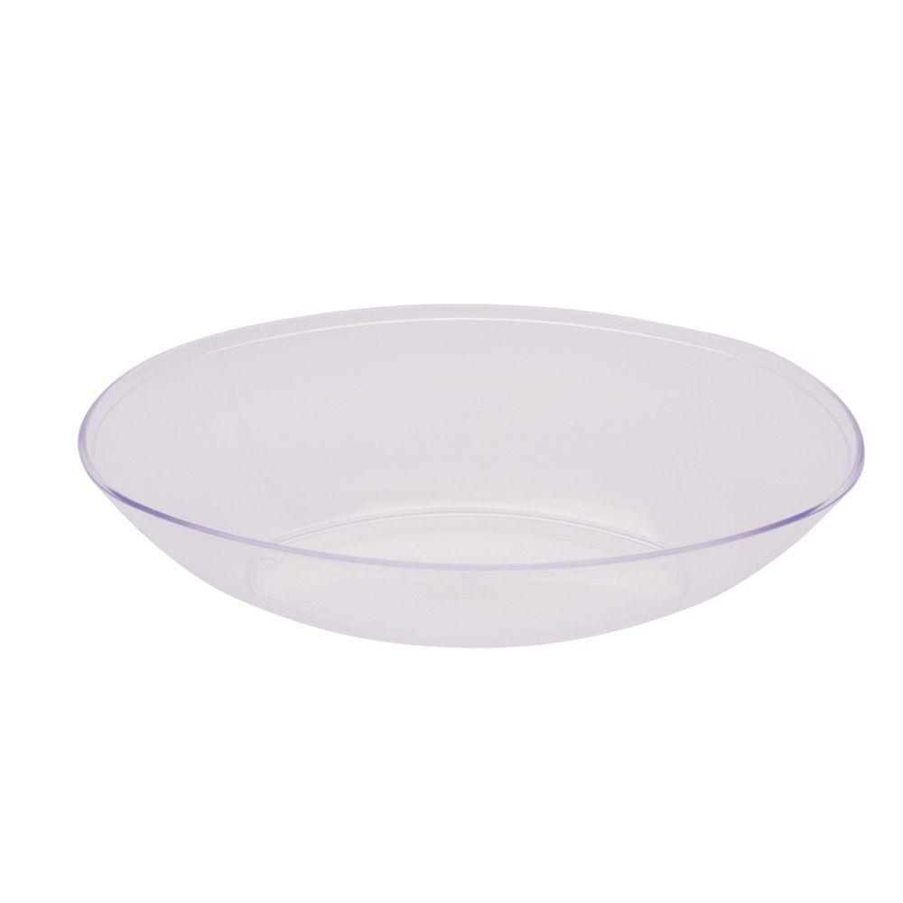 Form and Function Clear Plastic Large Oval Bowl/Case of 6 Tags: Bowl ...