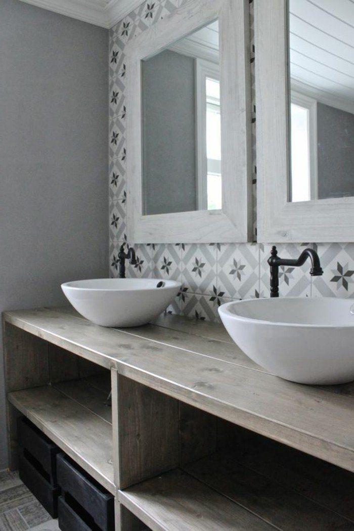 La vasque ronde en 45 photos - choisissez la vôtre! - Archzinefr - Meuble Vasque A Poser Salle De Bain