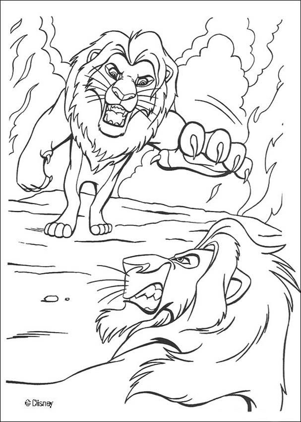 Coloring Pages © Lion King | ZABAWA | Pinterest | Lions, Adult ...