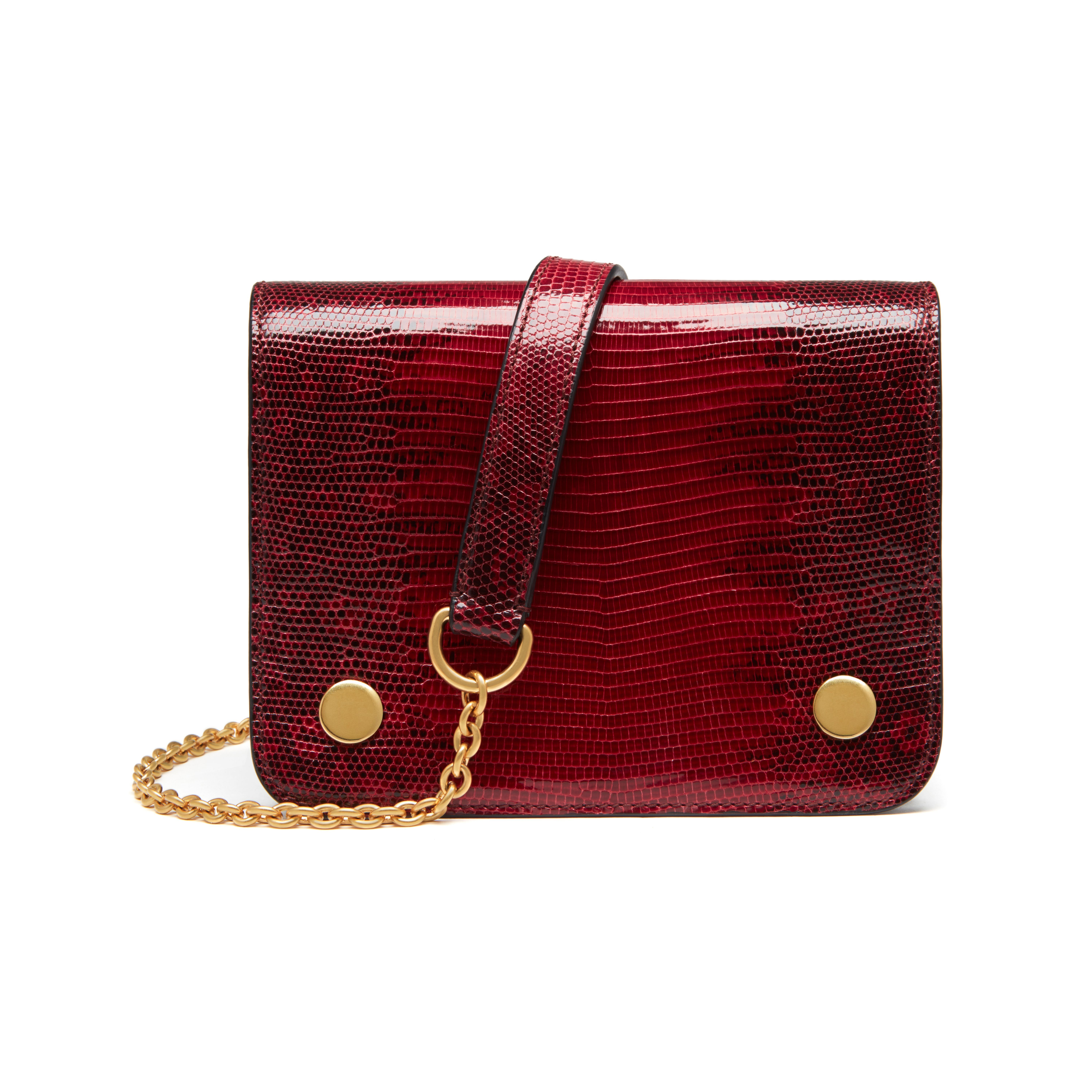 658380171f Shop the Small Clifton in Scarlet Lizard Varano at Mulberry.com