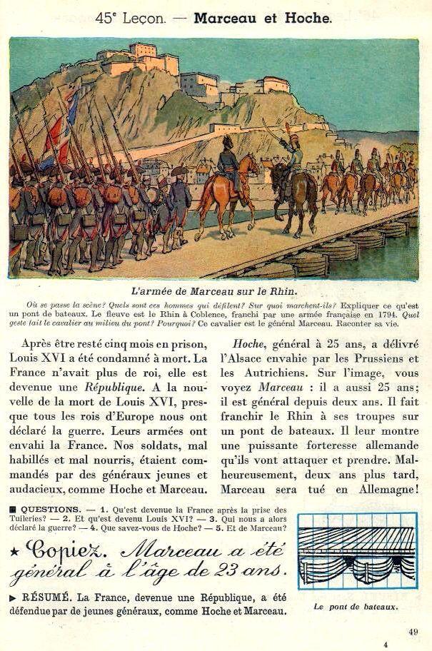 Marceau Et Hoche Histoire Universelle Histoire Ancienne France