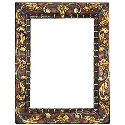 Painted Carved Floral Frames in 2018 | Ranch Houses | Pinterest ...