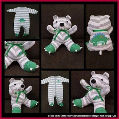 Turn Your Child's Onesie Into A Teddy Bear Buy It Or DIY ...