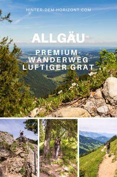 Wandern im Allgäu - Premiumweg Luftiger Grat - Reiseblog Hinter dem Horizont