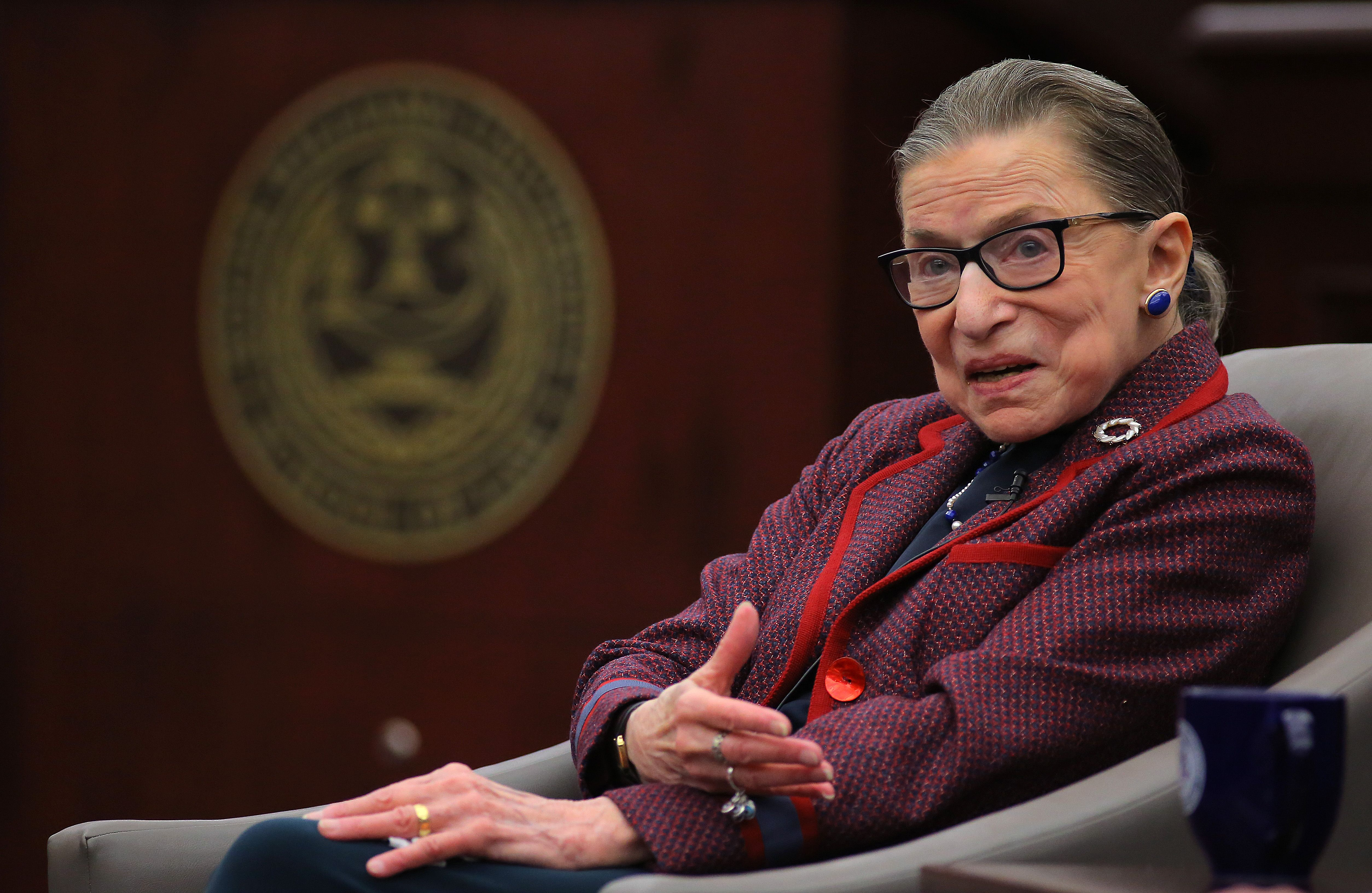 Ginsburg says she has another five years on supreme