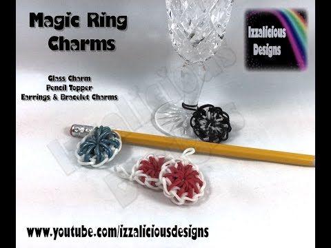 Rainbow Loom - Magic Ring Charm - Hook Only (loomless/loom-less)