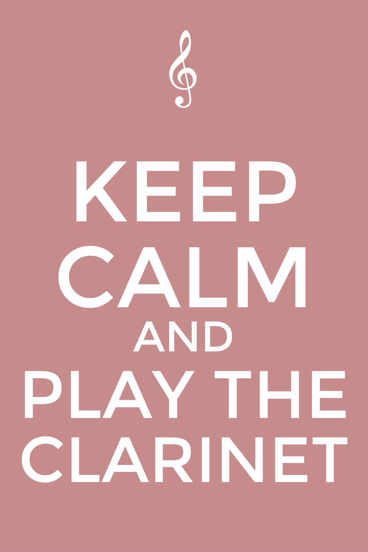 Keep calm and play the clarinet | Music (clarinet) (: | Pinterest ...