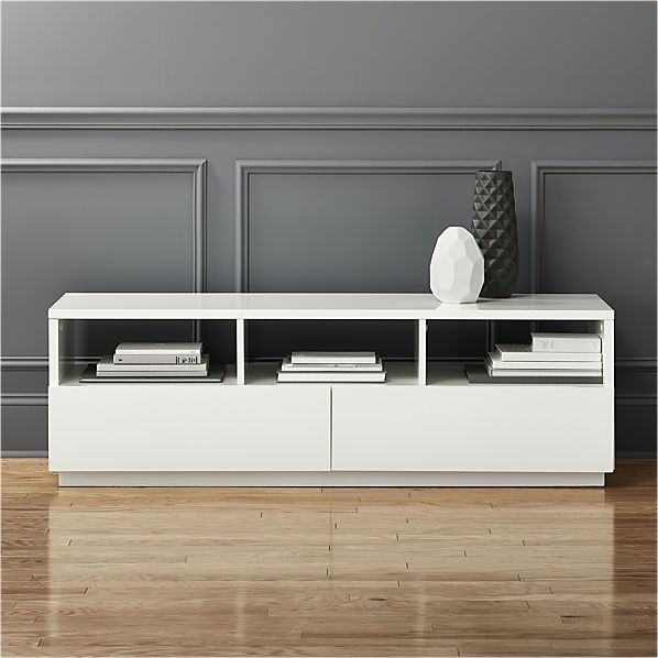 eldridge pin media cabinet white modern cado furniture