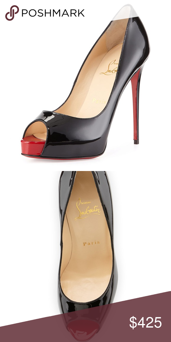 Very Prive Patent Red Sole Pump in 2020
