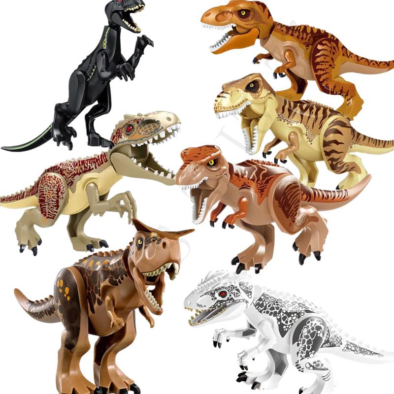 Dinosaur Tyrannosaurus Rex Jurassic World Figures LEGO Building Blocks FREE GIFT