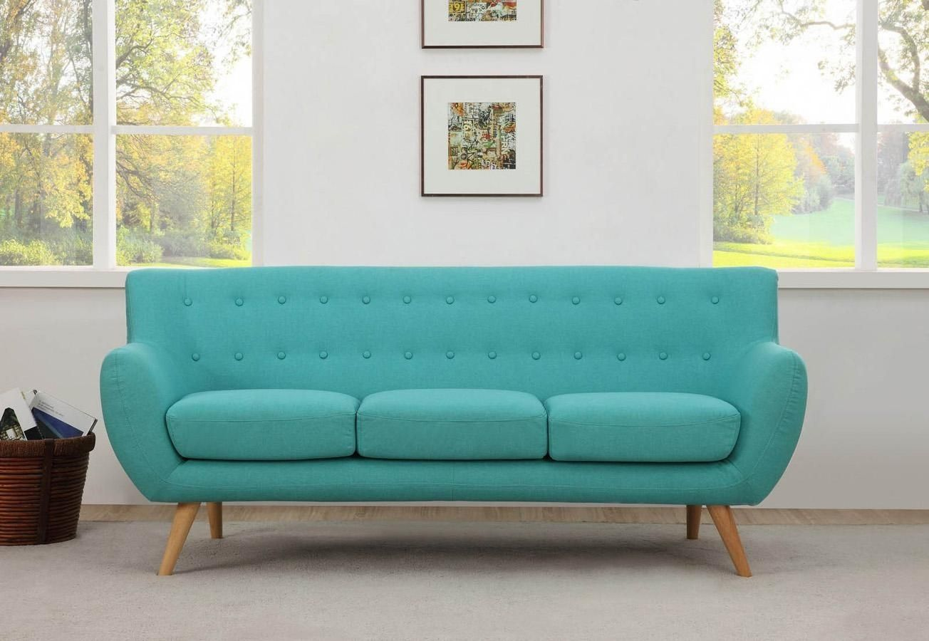 10 Photos Aqua Sofas Sofa Ideas Retro Couch Sofa Scandinavian Style Blue Sofa Chair