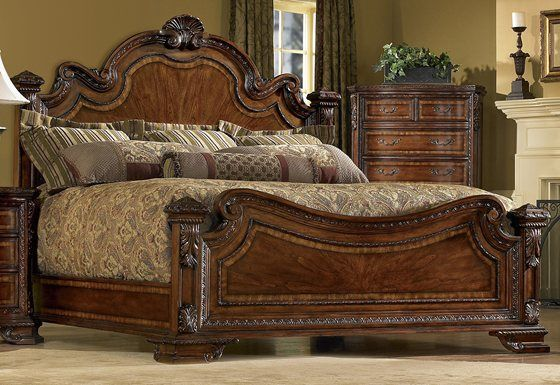 Old World Queen Bed Bedroom Furniture Sets Bedroom Design