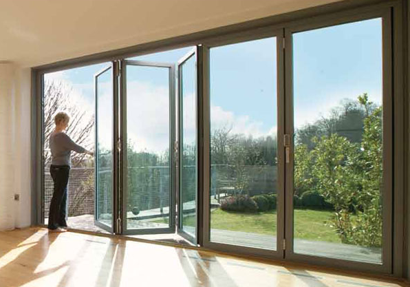 Schuco BiFolding Sliding Doors - alternative to Solarlux. Also do aluminium windows for loft. & http://www.altitudealuminium.co.uk/make-the-most-of-the-summer-with ...