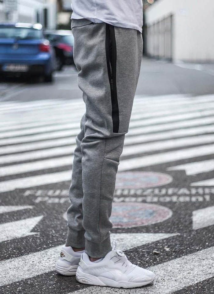 32b0ca1a405b70 Nike Tech Pants Street Style | Bottoms | Street wear, Mens fashion ...