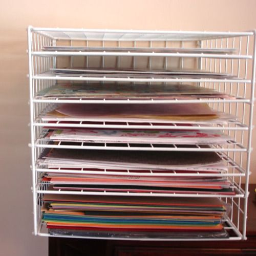 Make Your Own Paper Storage Rack My 12x12u201d Cardstock/paper Storage Woes  Will Soon