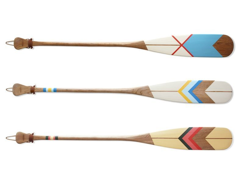 Madameherve Norquay Paddles 2 Paint Old Oars For Wall Decoration Canoe Paddle Wooden Canoe Wooden Paddle