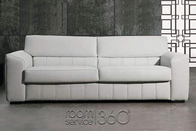 monaco italian leather sleeper sofa by gamma arredamenti