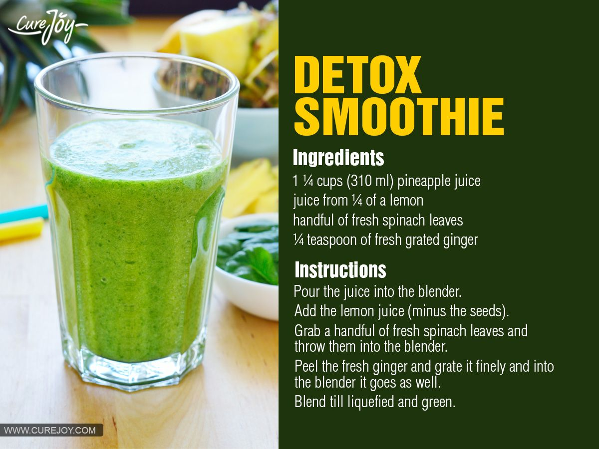 29 detox drinks for cleansing and weight loss detox for Cocktail detox