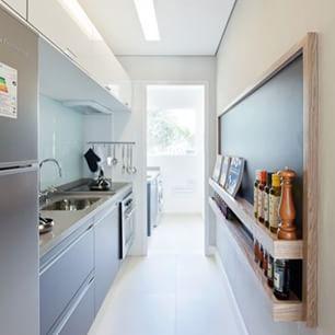 cozinha corredor pequena diy - Pesquisa Google