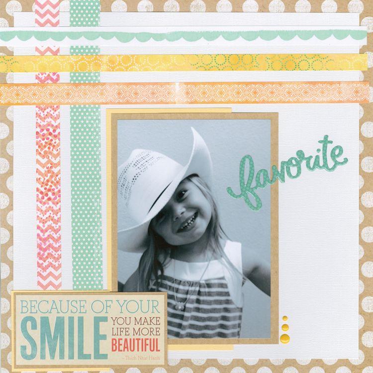 Washi Tape Scrapbooking Childrens Layouts Pinterest Washi